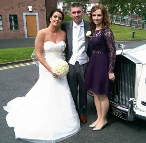 Happy Couple with Catherine McCallum